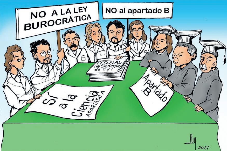 Page 30 of trabajadores de ciencia y tecnología buscan visibilizar sus problemas: dr. Martín lópez Avalos