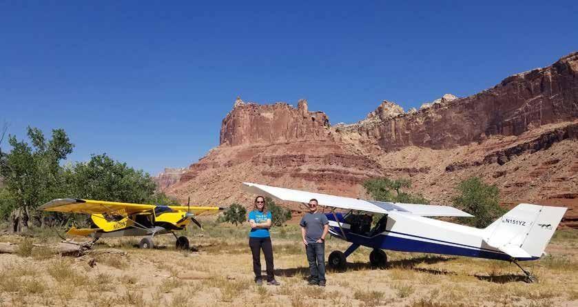 Page 30 of Be-Utah-Ful! Backcountry Flying In Utah by Yasmina Platt