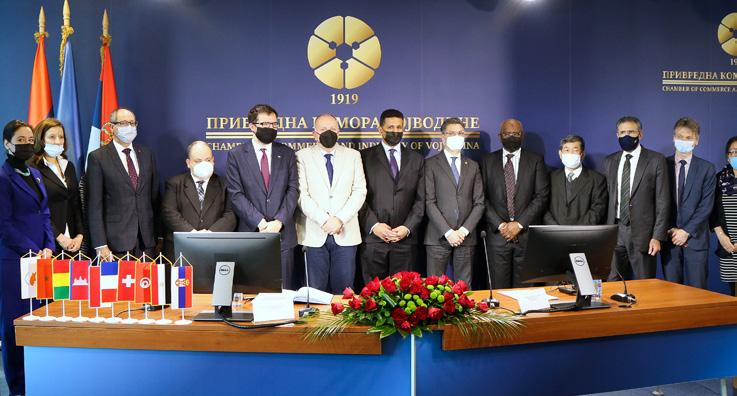 Page 6 of PKV domaćin Grupi frankofonih ambasadora u Srbiji