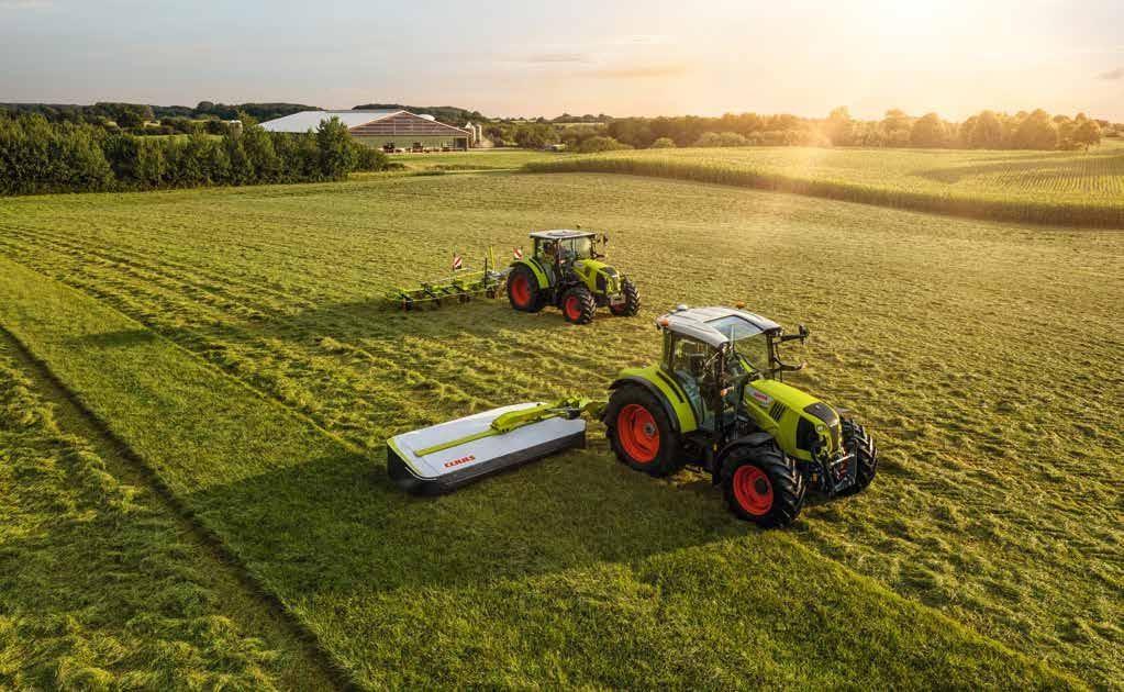 Page 54 of Remek fejlesztéseket kapott a CLAAS ARION 400 traktorsorozat