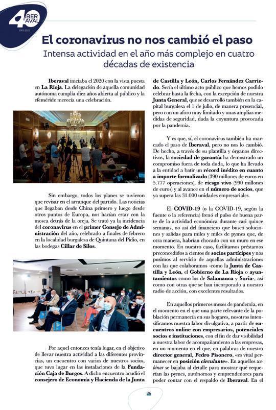 Page 33 of La nueva memoria de actividades