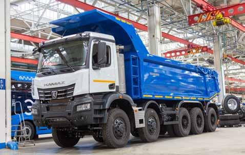Page 78 of Solaris continues expansion of Warintza • New KamAZ mining dump truck launched