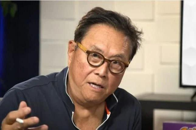 """Page 20 of Rich Dad"""" R. Kiyosaki says bitcoin will surpass $1 million in 5 years, but still prefers gold"""