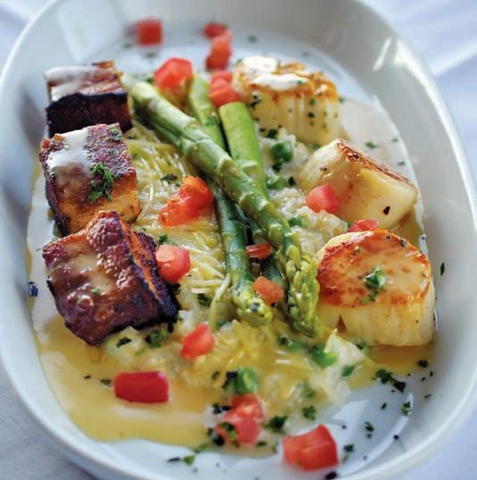 Page 64 of Eating Scene Long an anchor of the marina and downtown Fernandina Beach, Brett's sets the