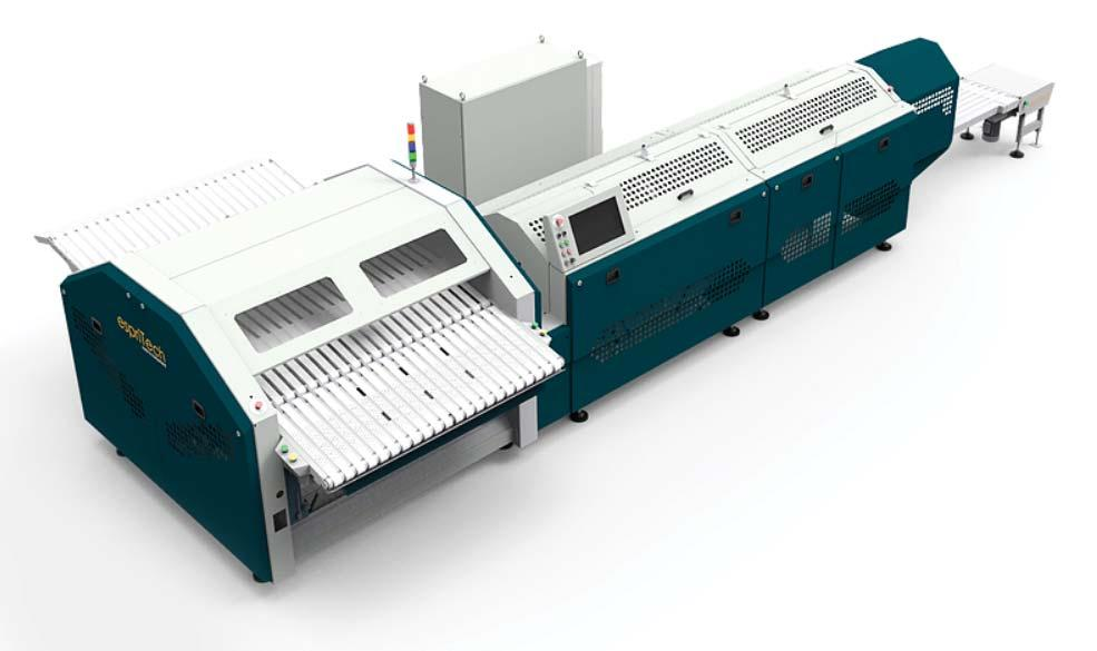 Page 53 of EspriTech specializes in automated textile folding machinery
