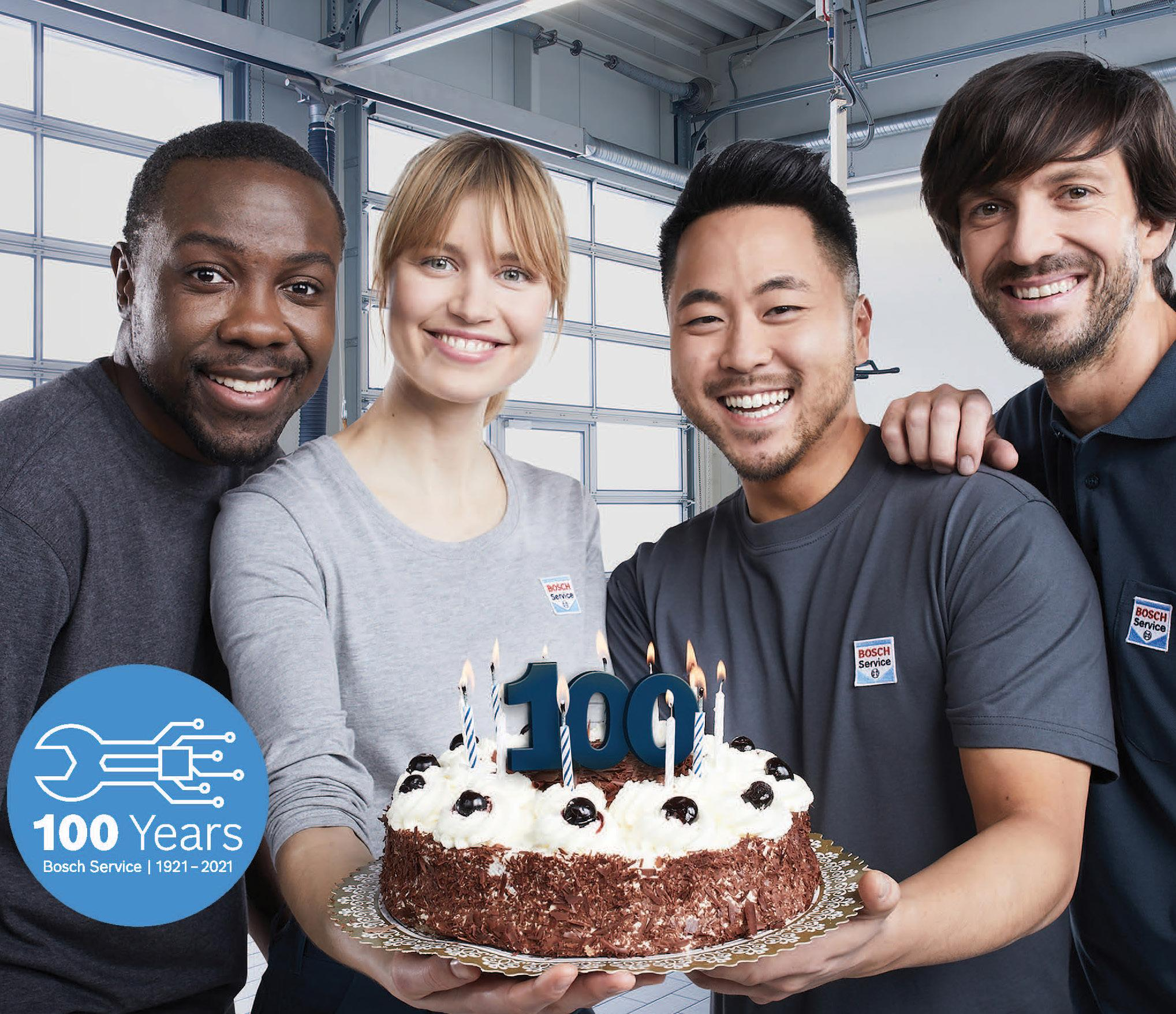 Page 16 of Cover Story - Celebrating 100 Years of Bosch Service