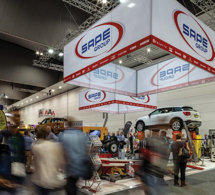 Page 10 of SAPE Group sponsors Collision Repair Expo