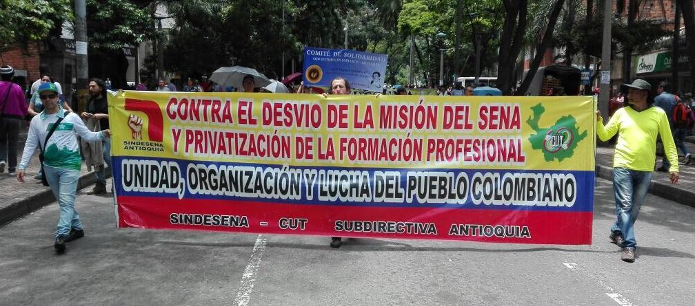 Page 26 of Otro paso a la privatización del SENA Nicolás Zapata, presidente Sindensena Antioquia