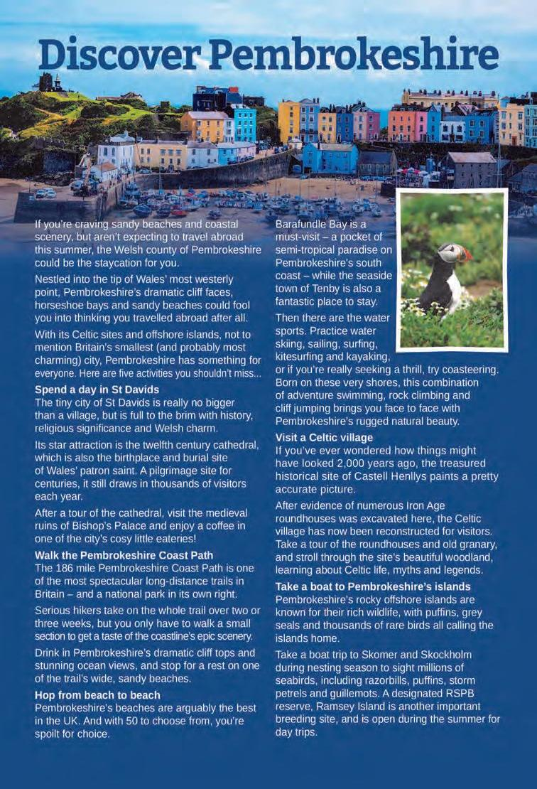 Page 22 of Travel Feature: Discover Pembrokeshire