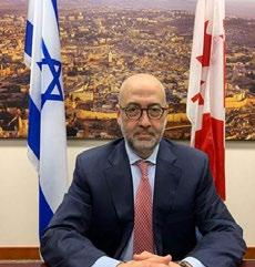 Page 34 of Diplomatic Agenda: Israel's détentes with neighbours
