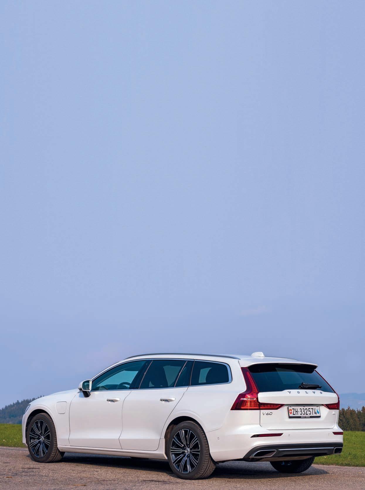 Page 48 of Rapport de conduite du Volvo V60 T6 eAWD Recharge Le véhicule chic et économique venu du grand Nord