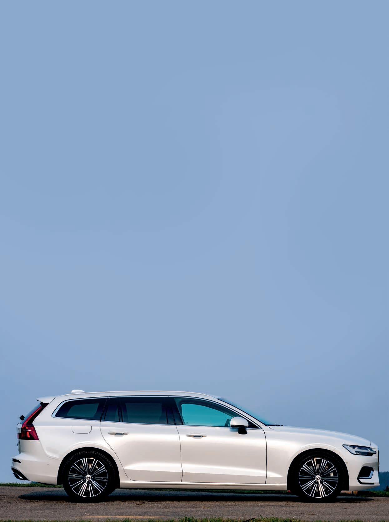 Page 44 of Fahrbericht Volvo V60 T6 eAWD Recharge: Der noble Sparfuchs aus dem hohen Norden