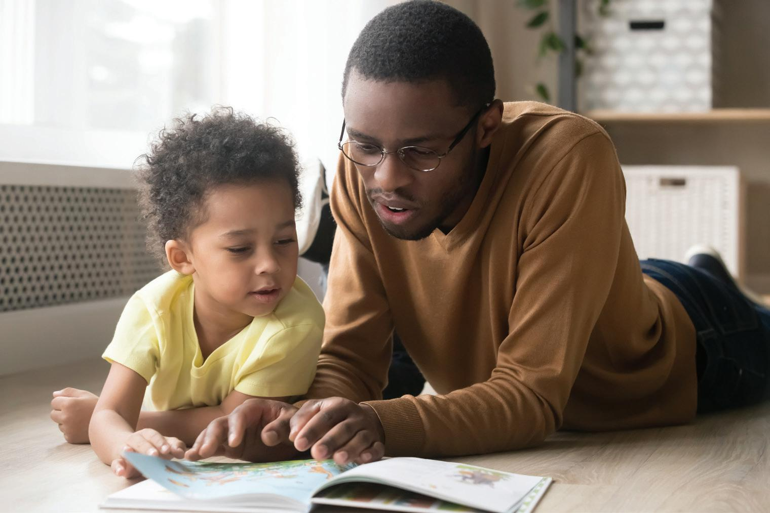 Page 21 of Reading Aloud Benefits the Whole Family