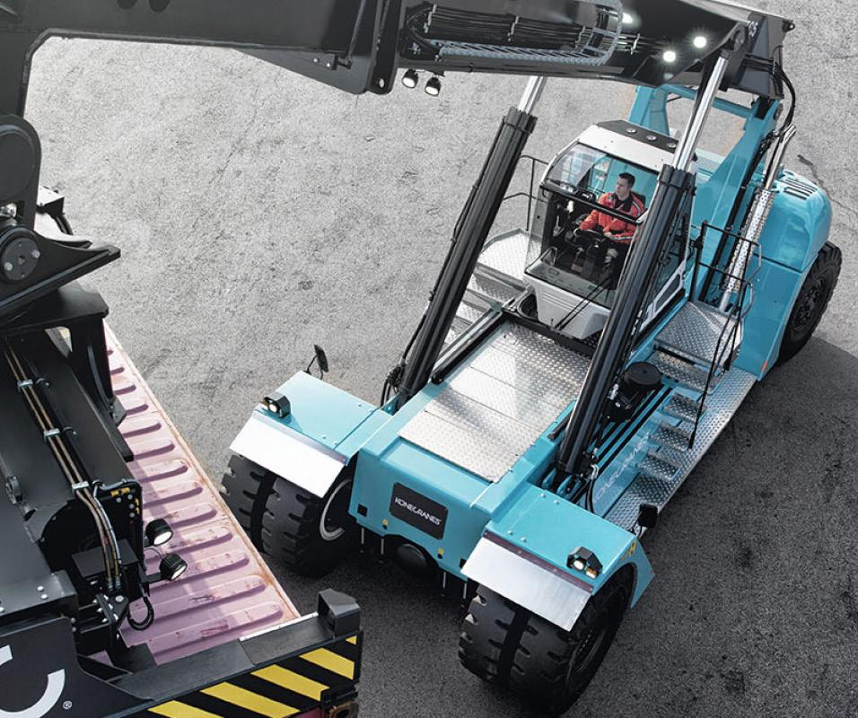 Page 10 of Konecranes Static Weighing System lifts port productivity