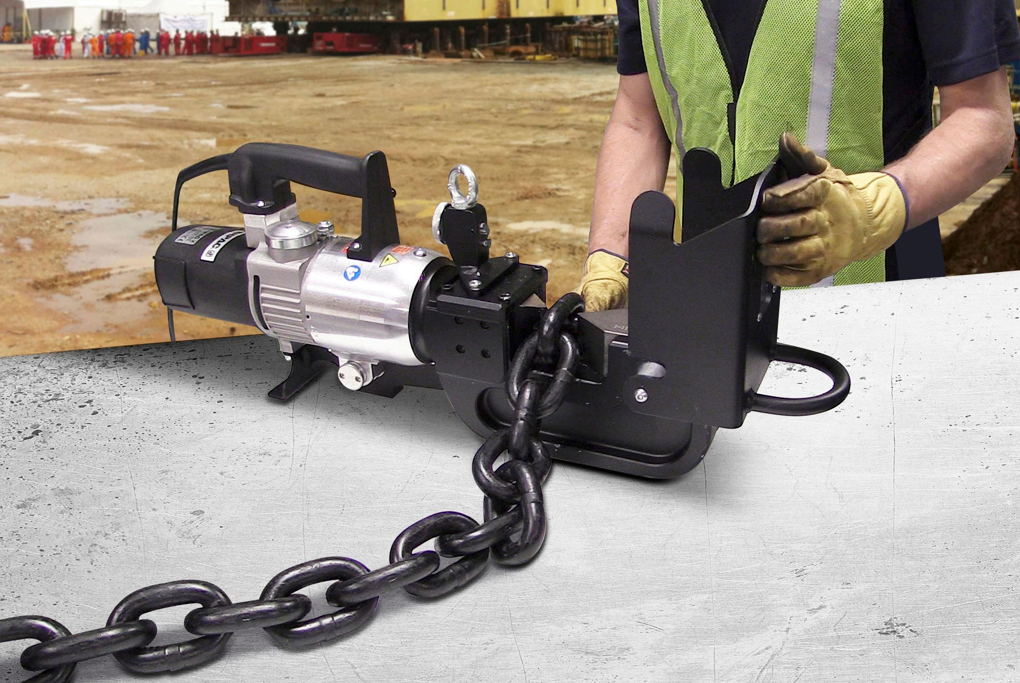 Page 34 of Safer and faster Chain Cutting with Enerpac Electric Cutters