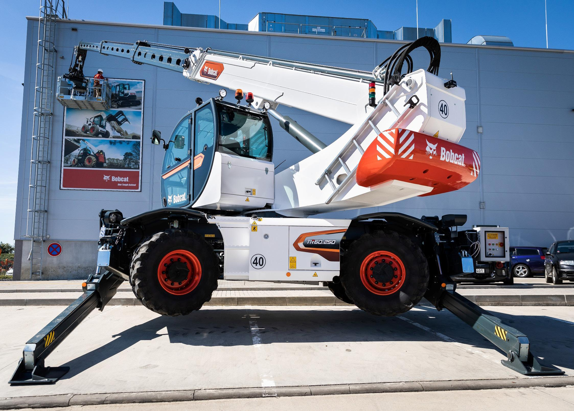 Page 16 of New generation rotary telehandler range from Bobcat
