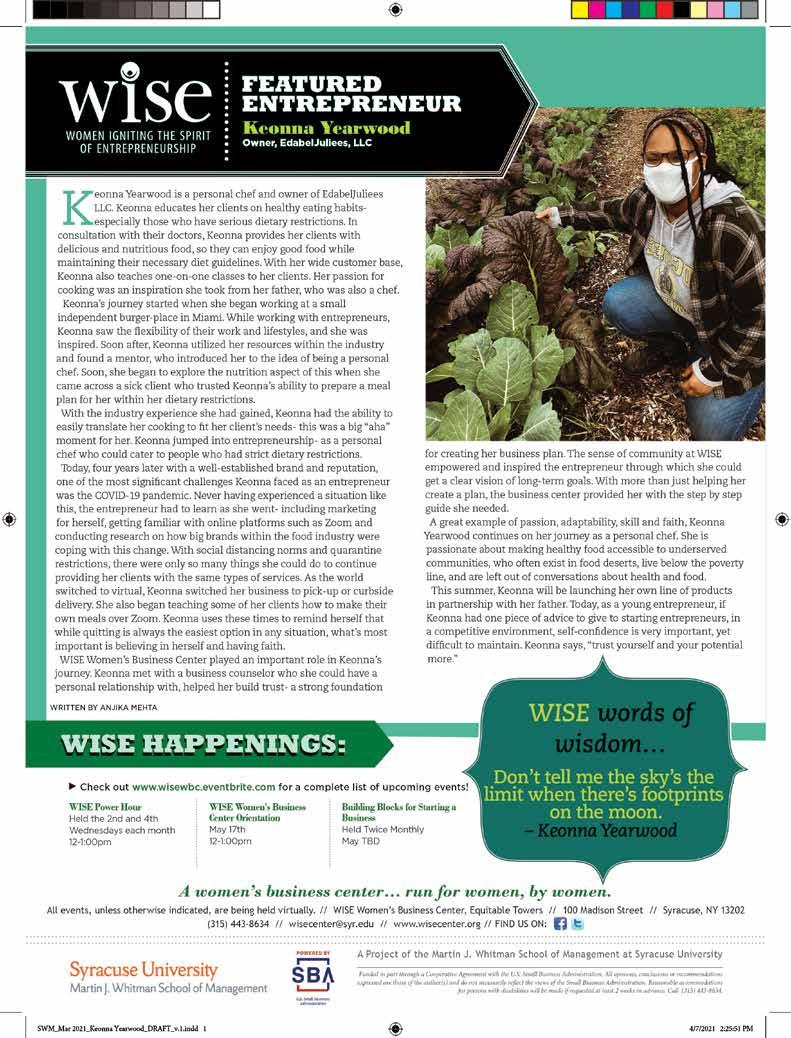 Page 16 of WISE WOMAN ENTREPRENEUR