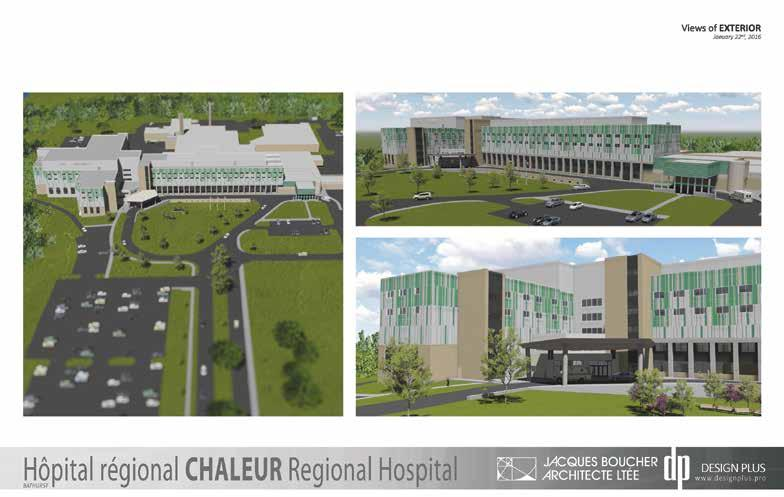 Page 36 of opens new expansion earlier this year A better experience: Chaleur Regional Hospital in Bathurst