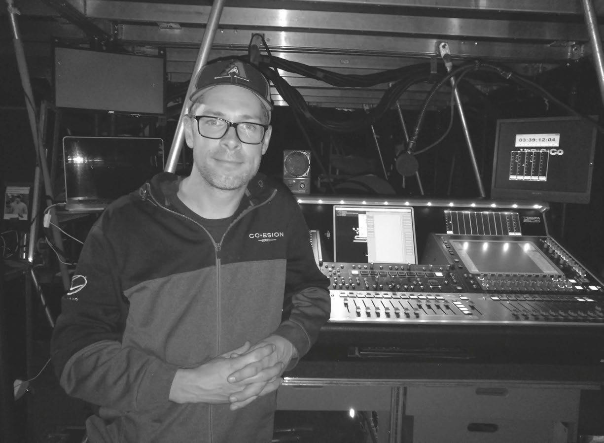 Page 44 of Supa Dave' Rupsch discusses life on the road with DiGiCo