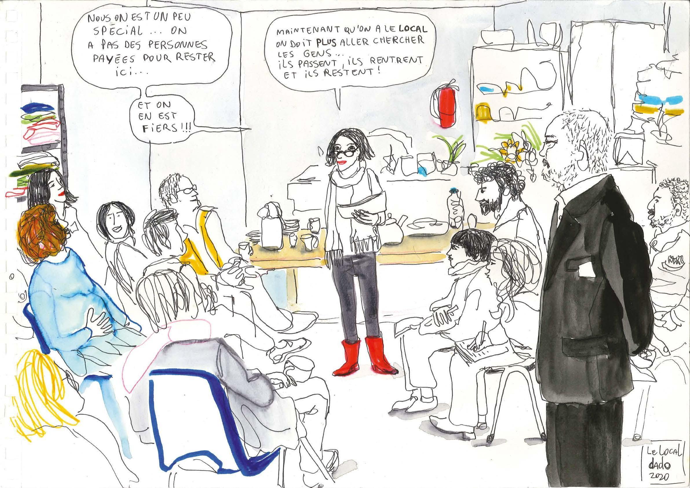 Page 22 of Portrait: Marianne, à cent à l'heure pour le Local