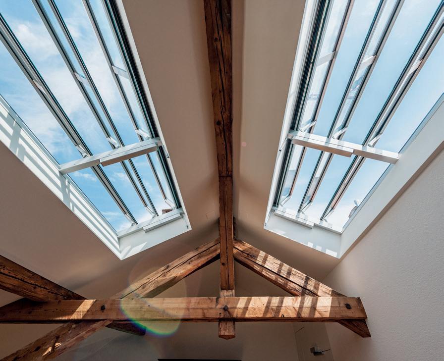 Page 12 of Sur le toit, un chef-d'œuvre de technologie est source de lumière et de bonne humeur