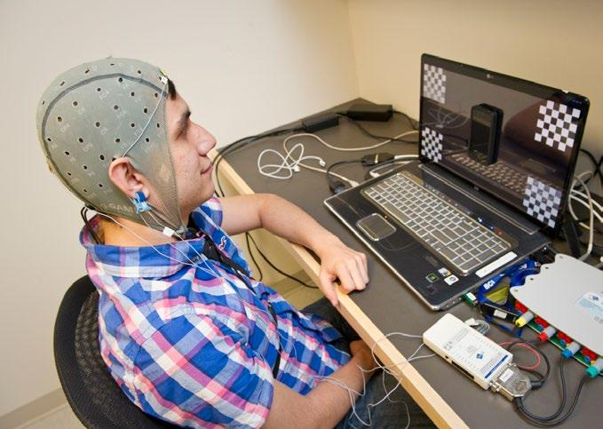 brain computer interface experiment