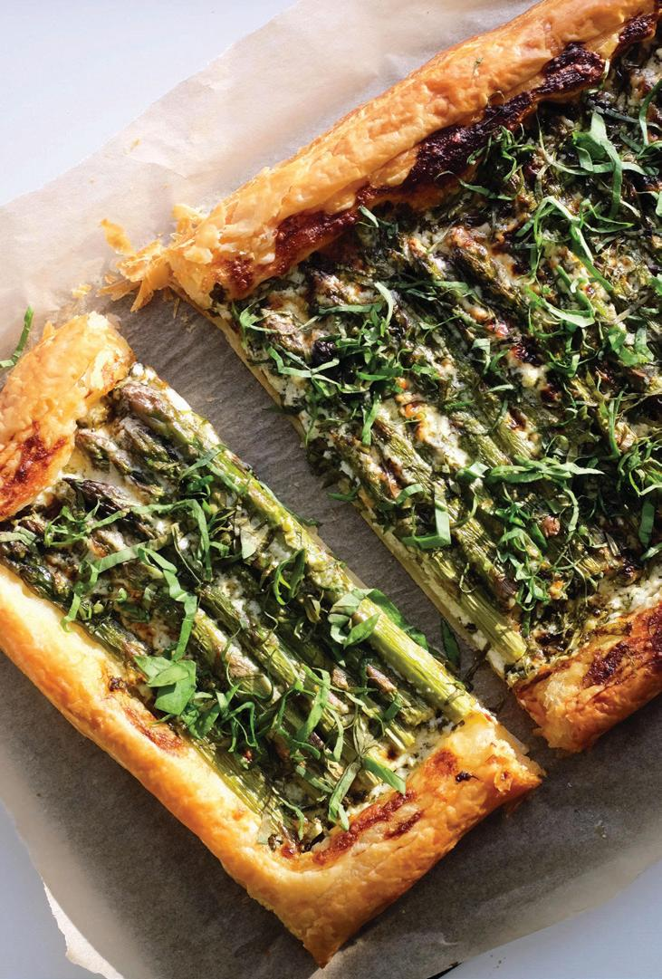 Page 20 of Asparagus & sorrel puff pastry tart