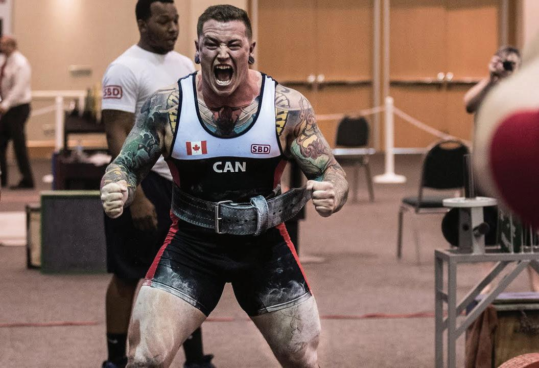 Page 14 of Champion powerlifter reveal his
