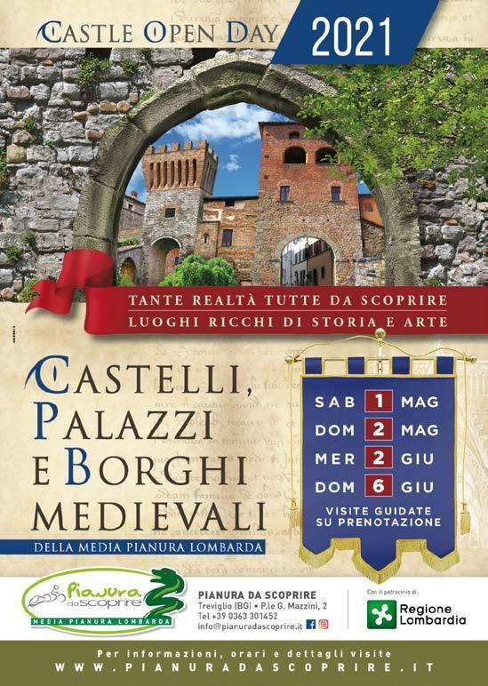 """Page 36 of Riaprono i castelli e borghi medievali. In sicurezza, con """"Pianura da scoprire"""