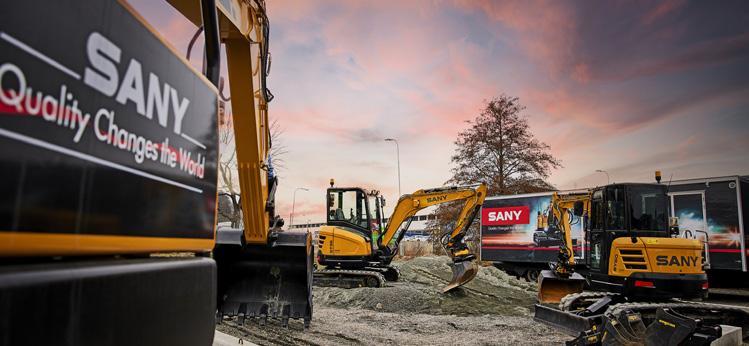 Page 17 of Sany grävmaskiner kommer till Sverige