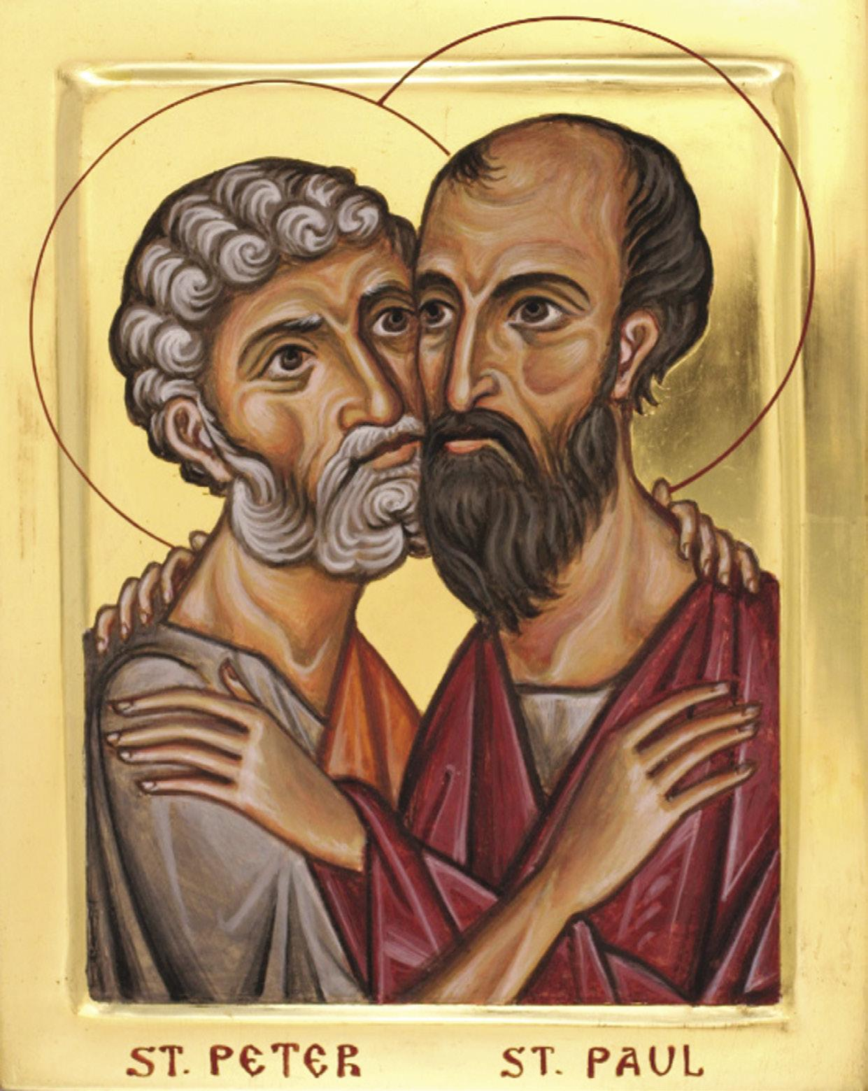 Page 2 of The Church, a Universal Family; The Solemnity of Sts. Peter and Paul