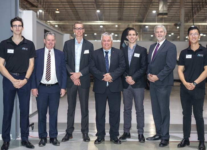 Page 10 of AIC opens new SA branch