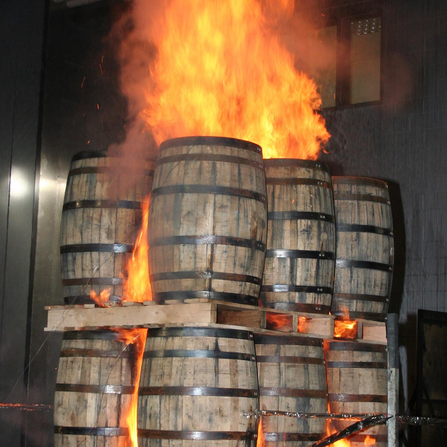 Page 8 of Fire protection for distilled spirits in wooden barrels