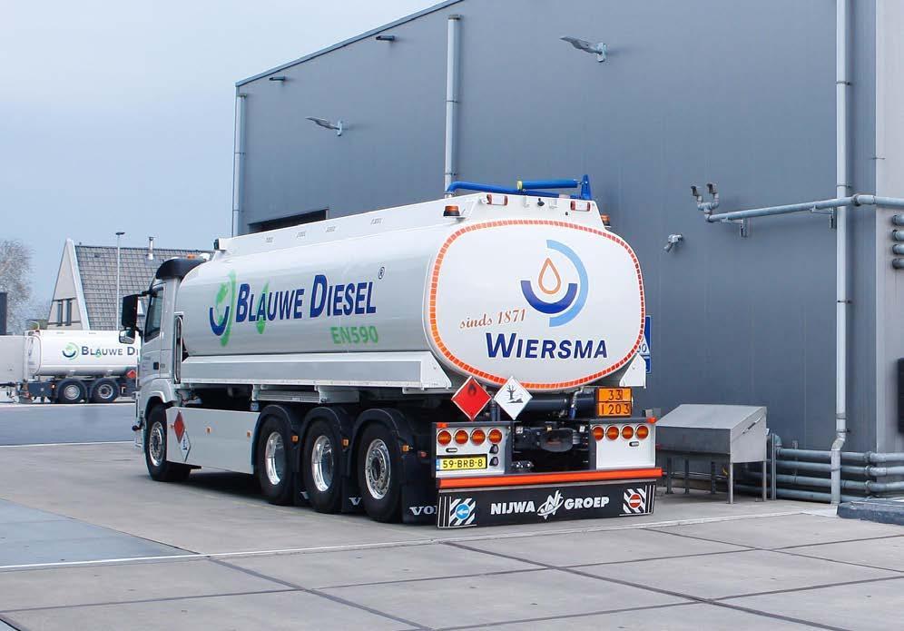 Page 36 of Future Fuels Wholesale DGA Germ Wiersma: 'Onze missie is om binnen vijf jaar marktleider te zijn in Nederland in duurzame dieselbrandstoffen'