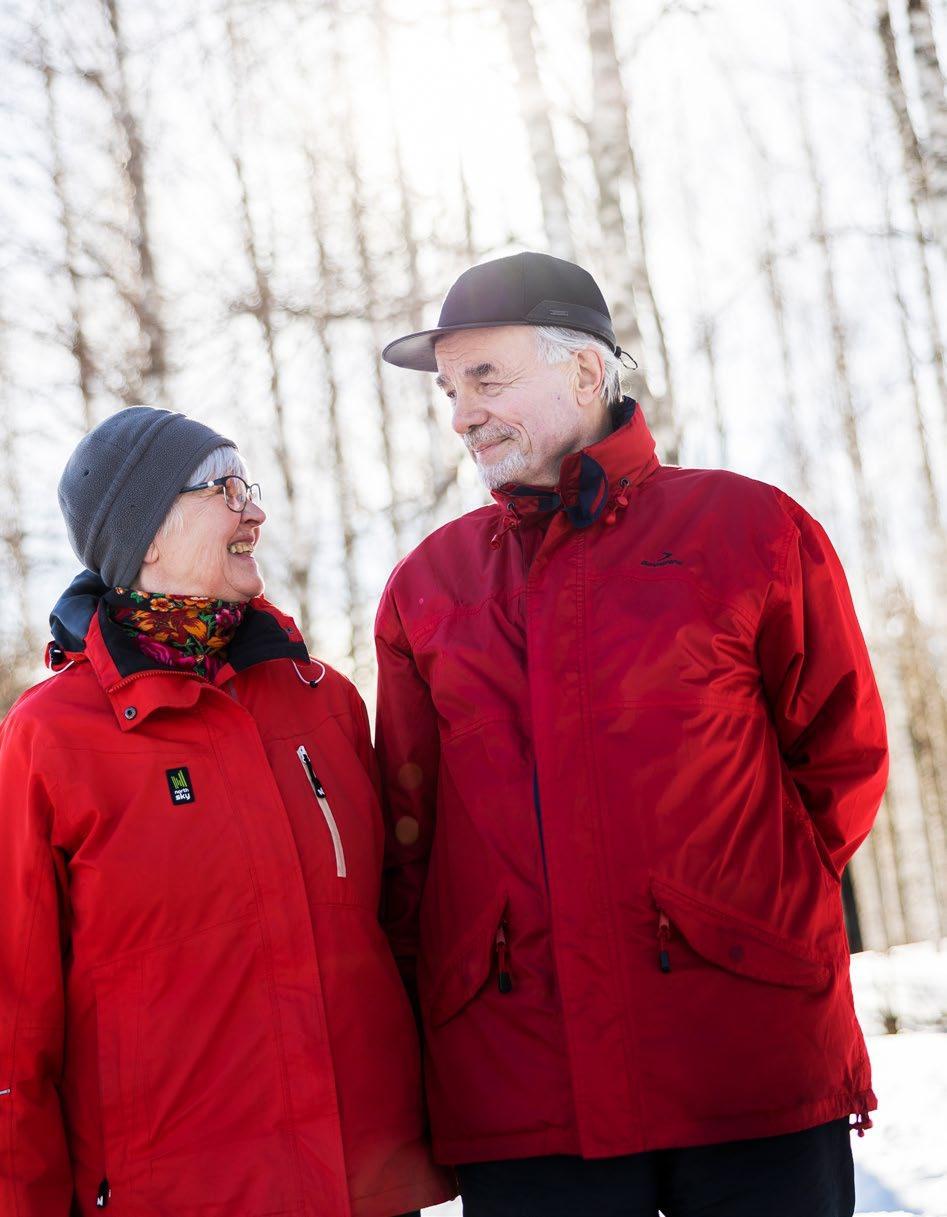 Page 12 of Anna Maija ja Hannu Lahtinen ovat suojelleet osan metsästään Tuupovaa rassa