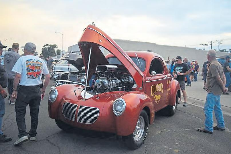 Page 44 of Cruise Night in Julesburg brings out a collection of iconic cars