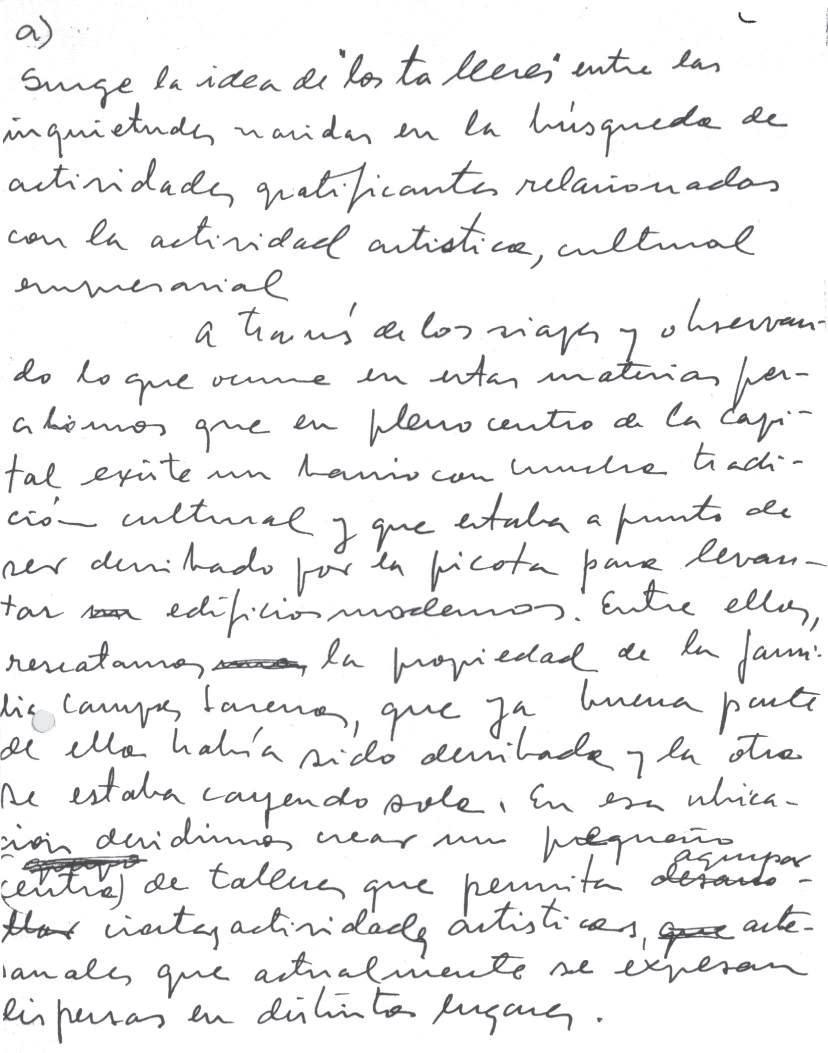 Page 22 of Proyecto Plaza Mulato Gil de Castro: Primeras ideas