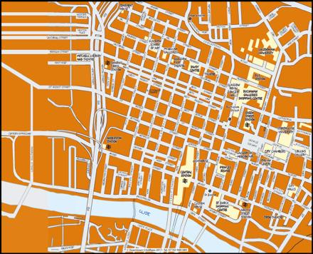 Page 8 of 09 City Centre Maps