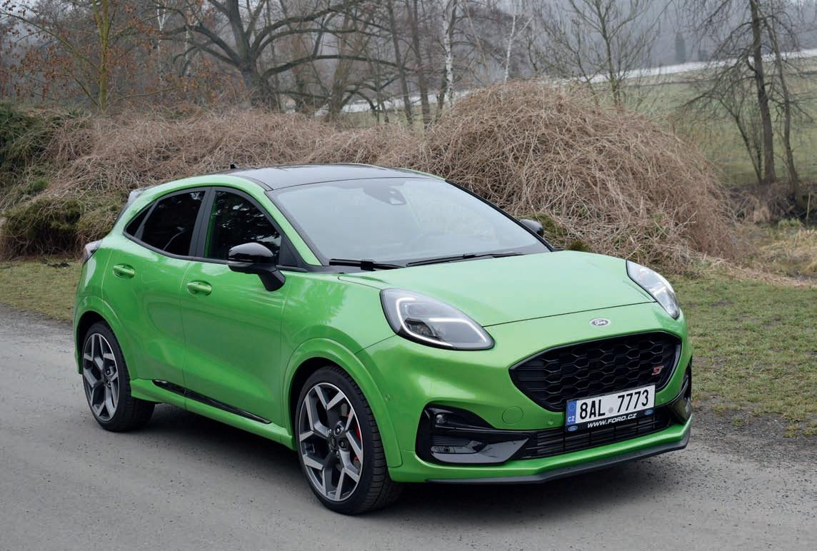 Page 8 of FORD Puma ST 2021