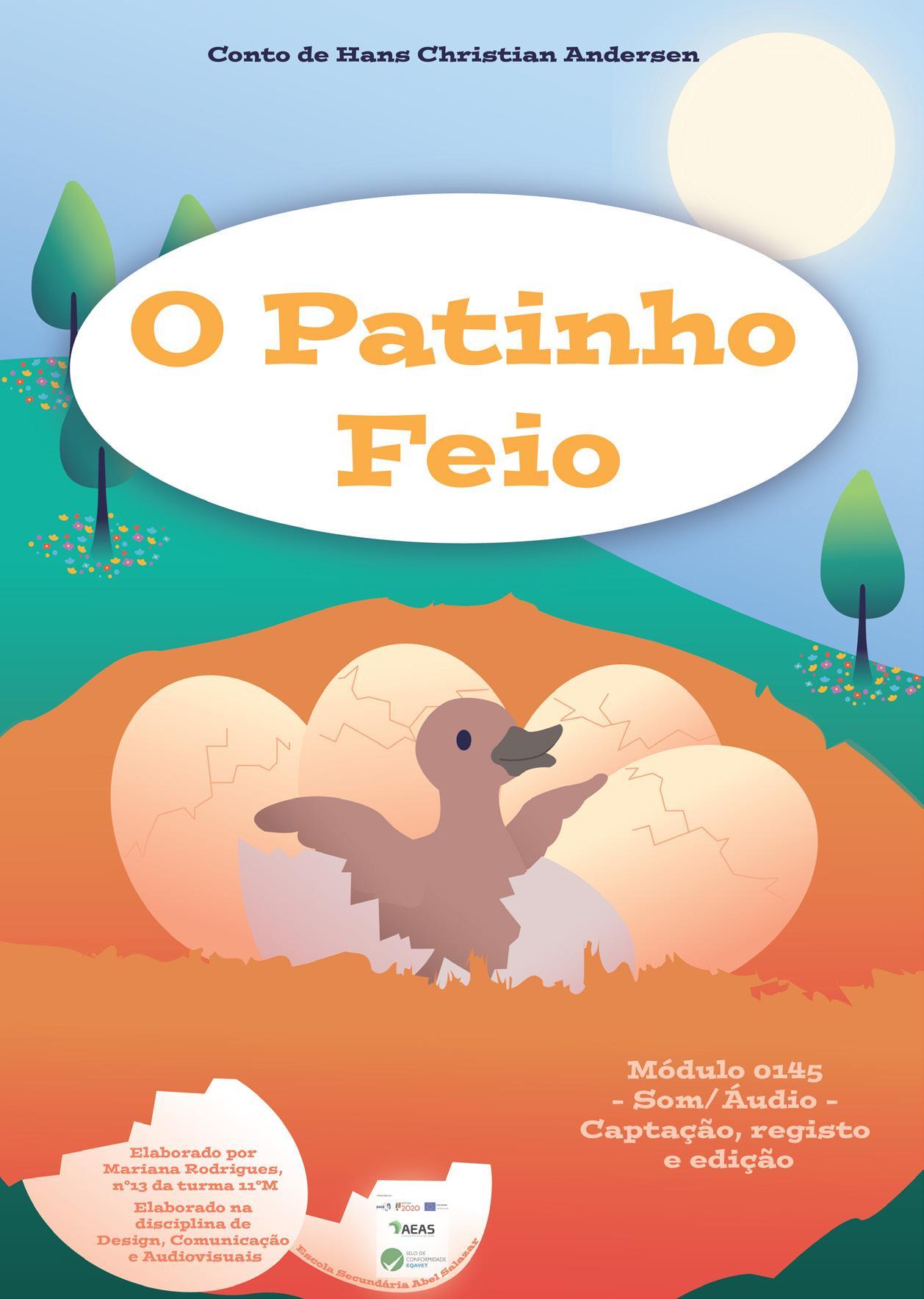 """Page 3 of E-Book """"O Patinho Feio"""" - Dia Mundial da Criança"""
