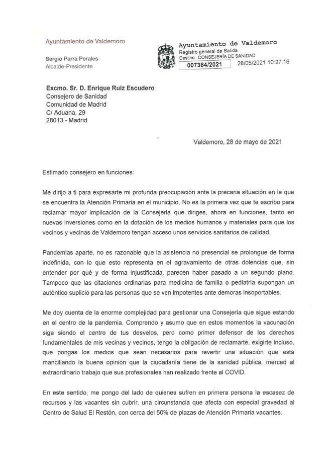 Page 9 of El alcalde exige la mejora de la asistencia sanitaria