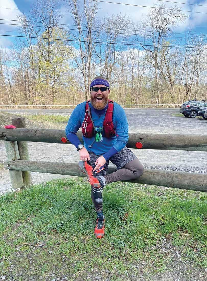 Page 12 of Marathon Man: Josh Nefield runs with son in mind