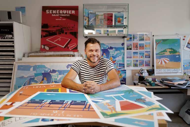 Page 20 of ART&DESIGN Éric Garence, en haut de l'affiche