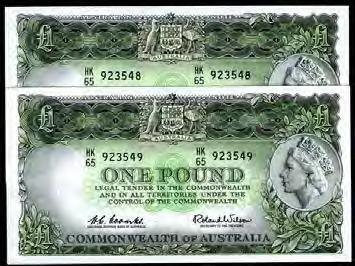 Page 64 of Last Prefix Australian Banknotes