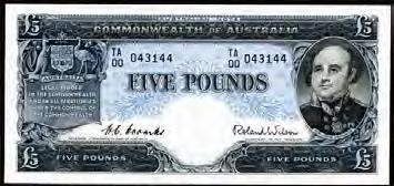 Page 58 of First Prefix Australian Banknotes