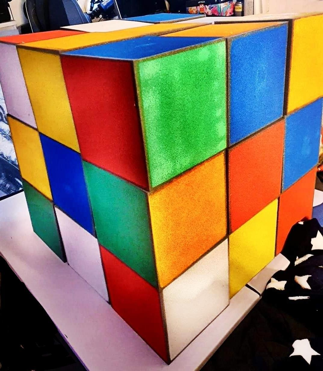 Page 26 of LIFE IS LIKE A RUBIX CUBE PAINTING AND 3D PROP: page 26