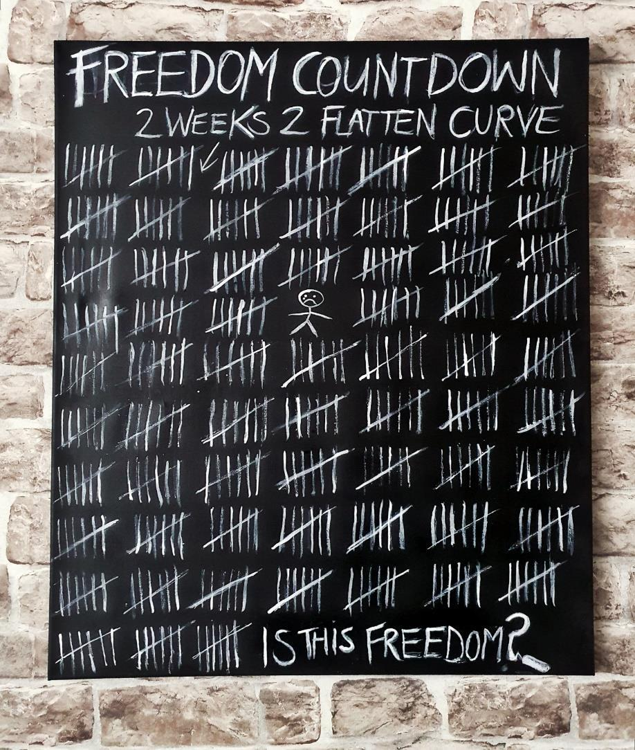 Page 14 of FREEDOM COUNTDOWN PAINTING