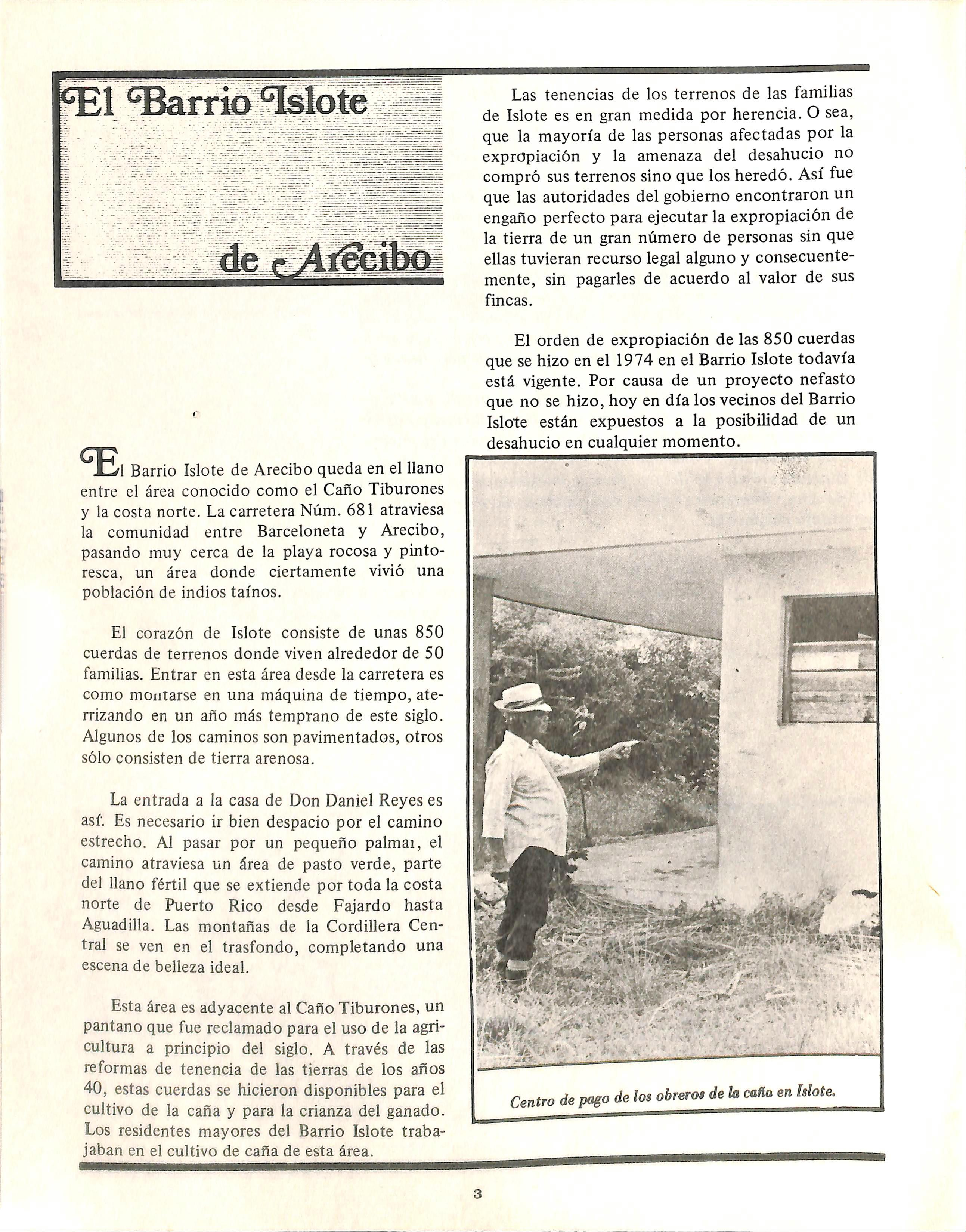 Page 8 of EL BARRIO ISLOTE DE ARECIBO