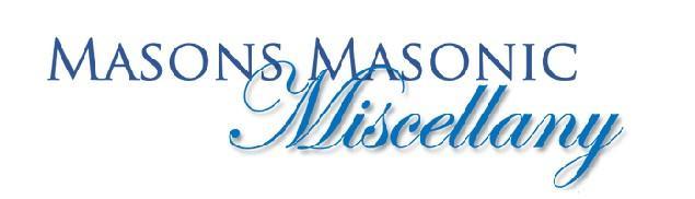 Page 19 of Masonic Miscellany