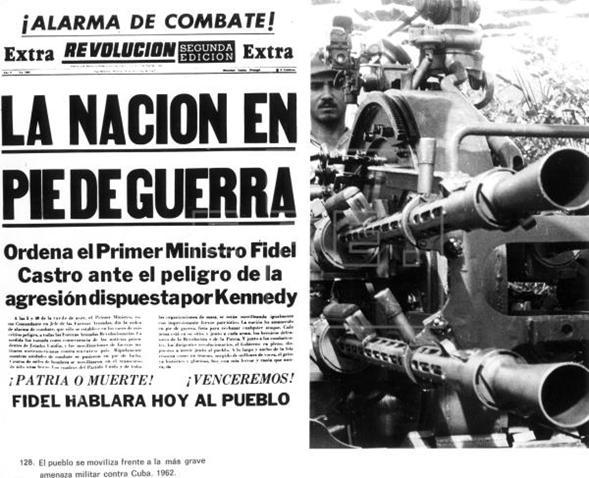 Page 10 of Pinceladas 'La Misión de Paz' de Jean Dan iel, JFK y Fidel Castro